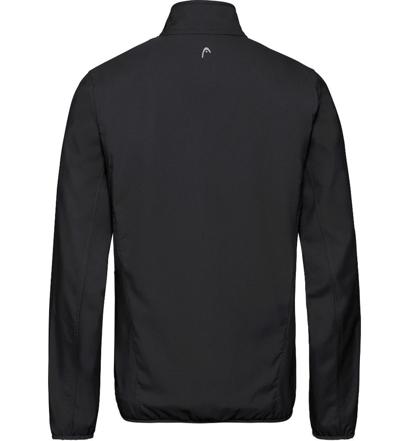 Head Mens Club Jacket - Black - All Things Tennis
