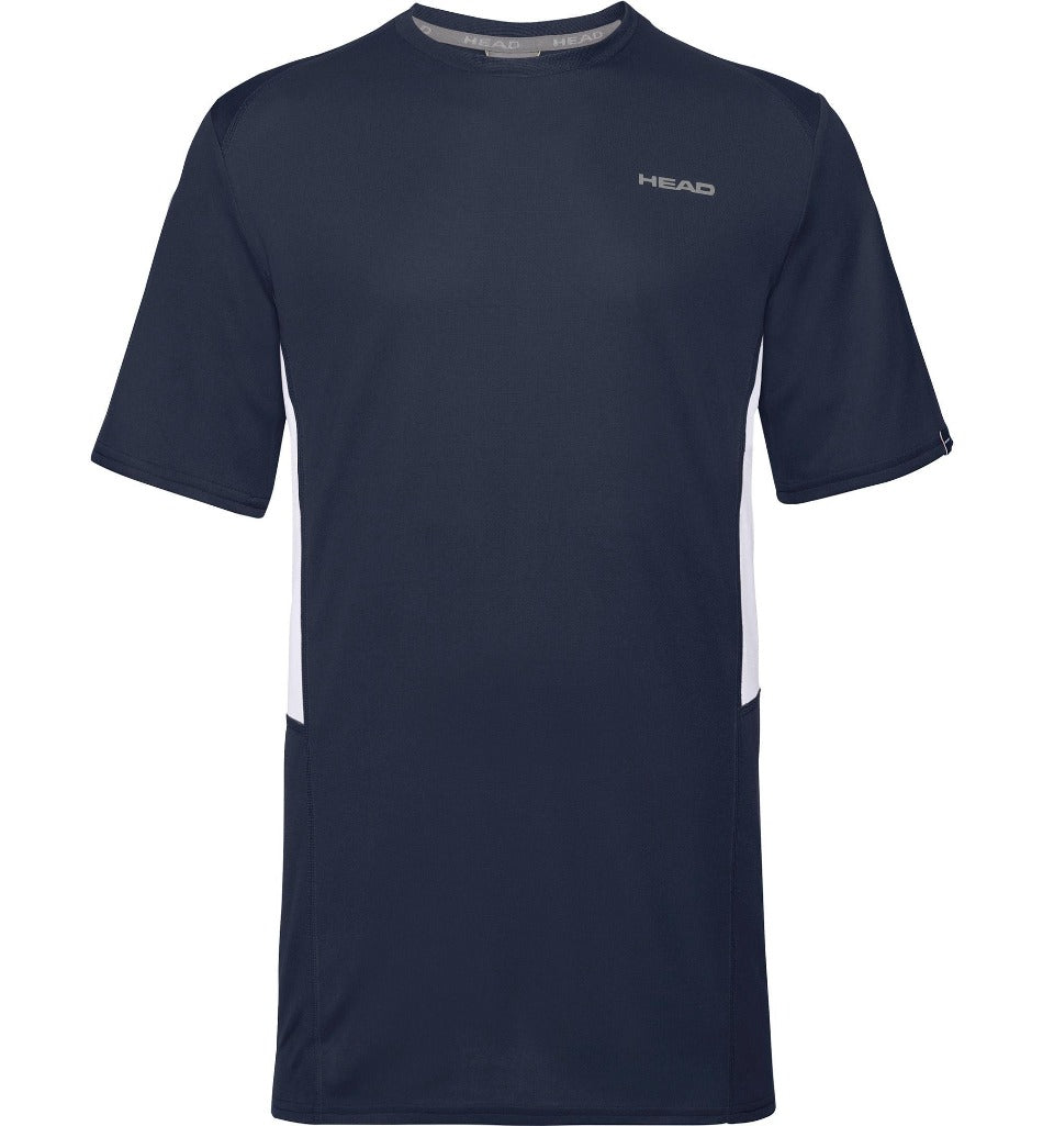 Head Mens Club Tech T-Shirt - Navy Blue - All Things Tennis