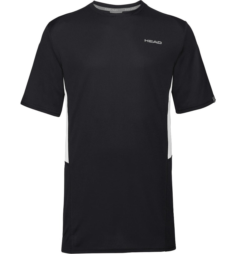 Head Mens Club Tech T-Shirt - Black-All Things Tennis-UK tennis shop