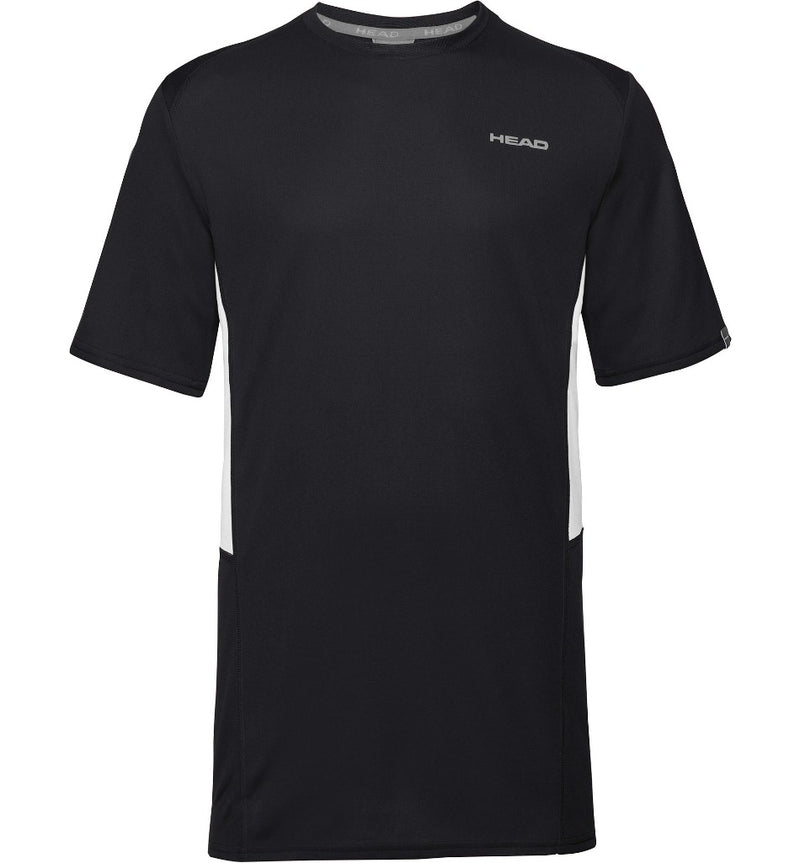 Head Mens Club Tech T-Shirt - Black - All Things Tennis