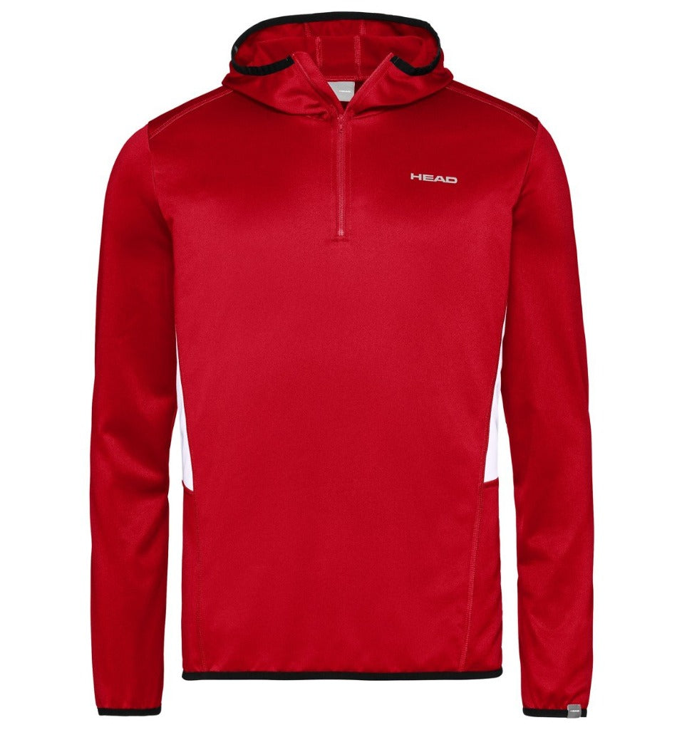 Head Mens Club Tech Hoodie - Red-All Things Tennis-UK tennis shop