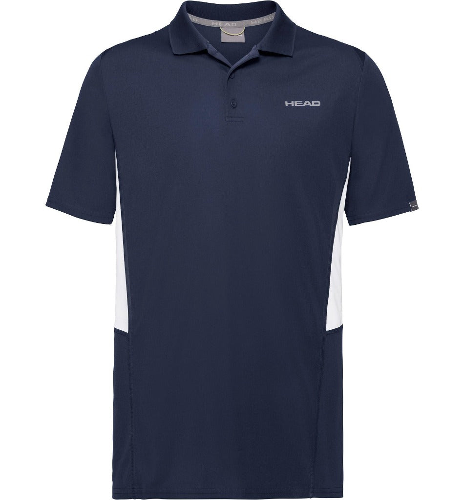 Head Mens Club Tech Polo - Dark Blue-All Things Tennis-UK tennis shop