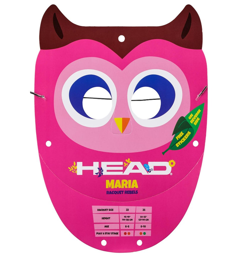 Head Maria 19 Inch Junior Aluminium Tennis Racket - All Things Tennis