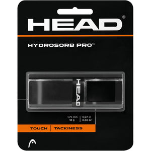 Head Hydrosorb Pro Replacement Grip-Black - All Things Tennis