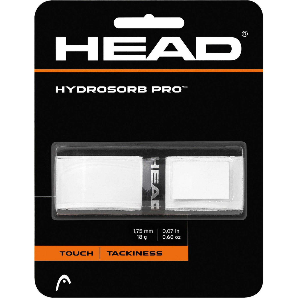 Head Hydrosorb Pro Replacement Grip-White - Independent tennis shop All Tbings Tennis