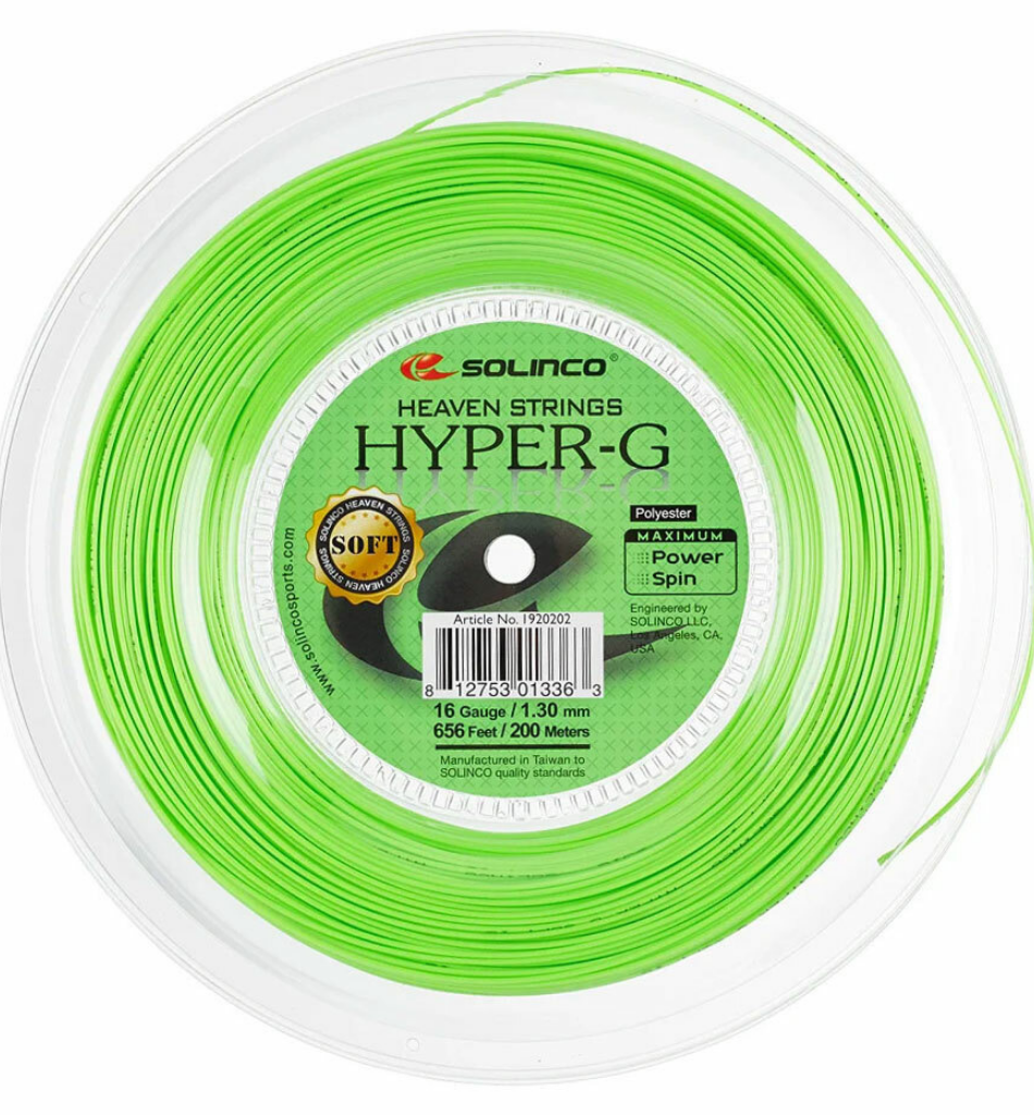 Solinco Hyper-G Soft 200m reel