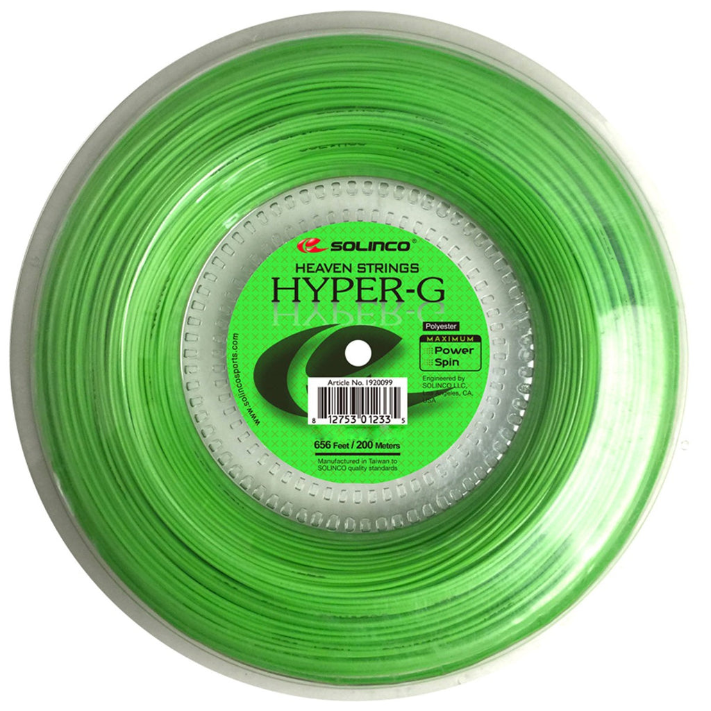 Solinco Hyper G 200m reel-All Things Tennis-UK tennis shop
