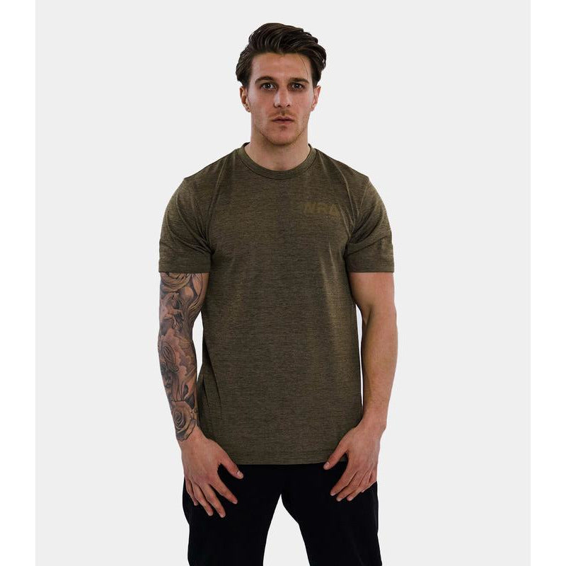 WRA Rapid Dry T-Shirt -Khaki-All Things Tennis-UK tennis shop