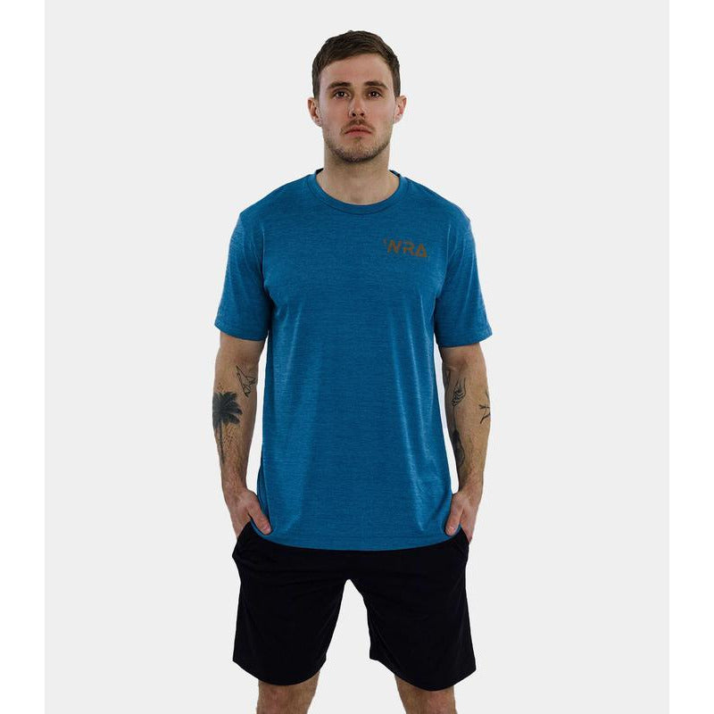 WRA Rapid Dry T-Shirt -Dark Blue - Independent tennis shop All Tbings Tennis