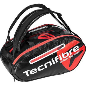 Tecnifibre Padel Bag - Black/Red - All Things Tennis
