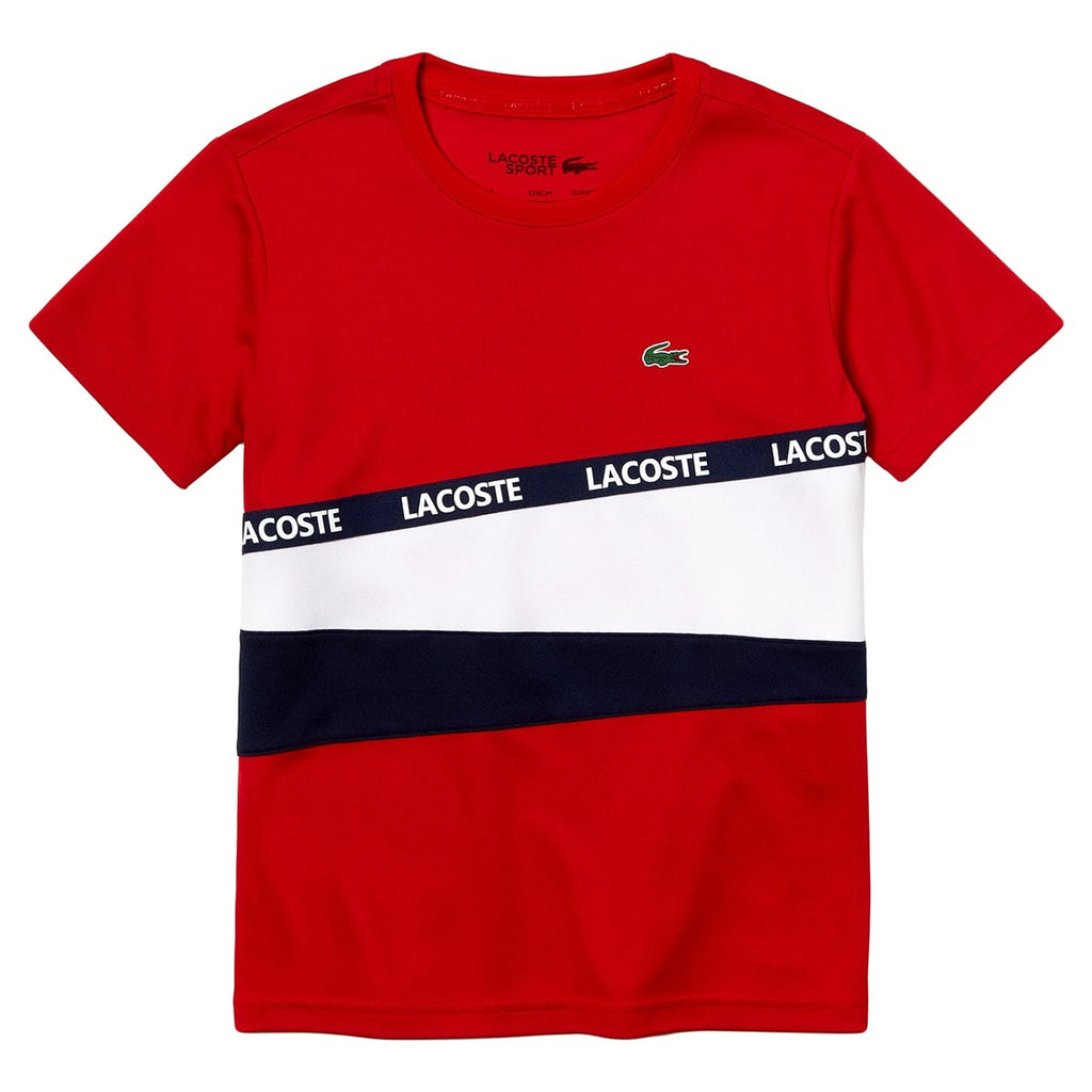 LACOSTE JUNIOR TENNIS T-SHIRT - All Things Tennis