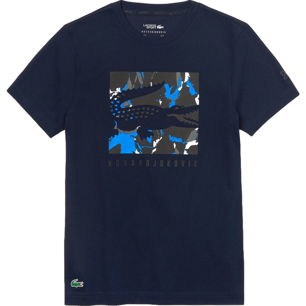 JUNIOR LACOSTE TENNIS DJOKOVIC T-SHIRT - Independent tennis shop All Tbings Tennis