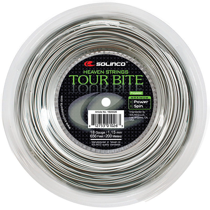 Solinco Tour Bite 200m Reel-All Things Tennis-UK tennis shop
