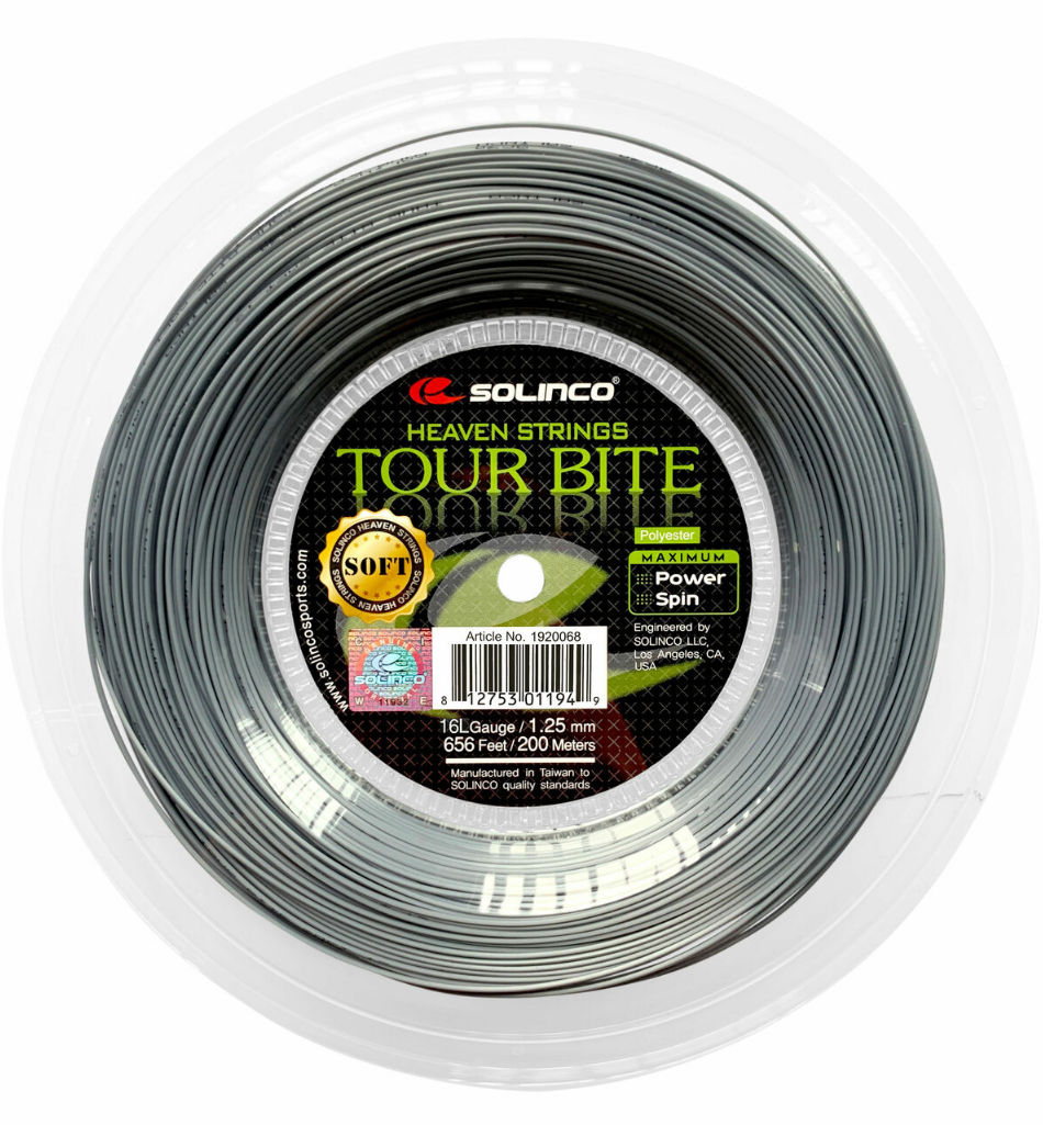 Solinco Tour Bite Soft 200m Reel