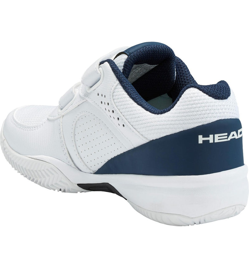 Head Kids Sprint Velcro 2.5 Tennis Shoes - White/Dark Blue-All Things Tennis-UK tennis shop