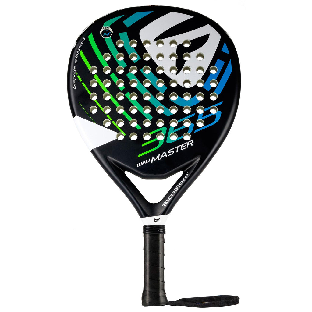 Tecnifibre Wall Master 365 Padel Racket - Black - All Things Tennis