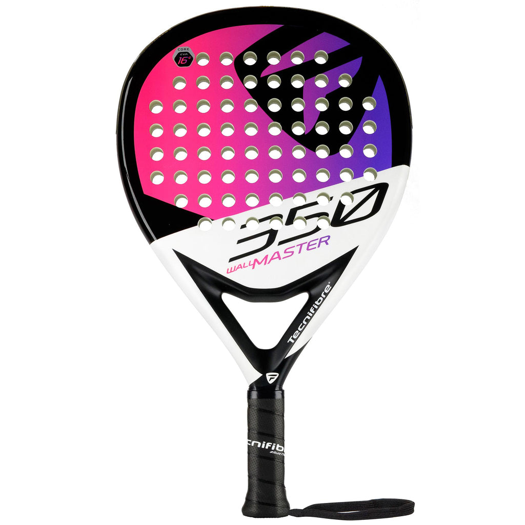 Tecnifibre Wall Master 350 Padel Racket - Black/Pink - All Things Tennis