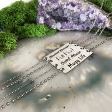 Harry Potter Necklace | Bar Necklace | Geekery Jewelry | Simple Necklace | Short Length Necklace | Stainless Steel Necklace | Hypoallergenic