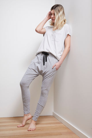 D-Luxe Jersey Drop Crotch Pant