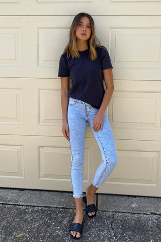 Riley Crop Skinny Jean