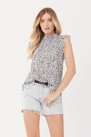 Courtney Ruffle Blouse
