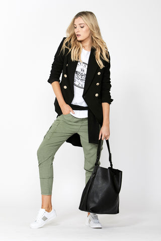 Erica Drop Crotch Cargo Pant