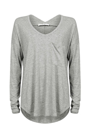 Luxe Long Sleeve BF Tee