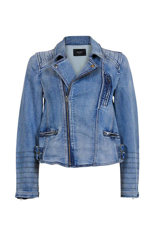 Lina Biker Denim Jacket