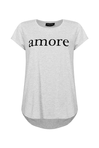 Amore Embroidered Tee