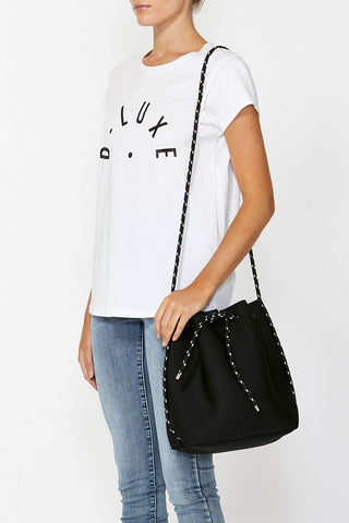 Luxe Bucket Neoprene Bag