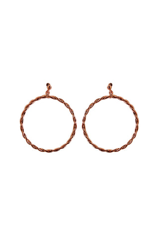 Twist Hoop Earring