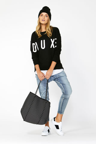 Luxe Printed Sweat