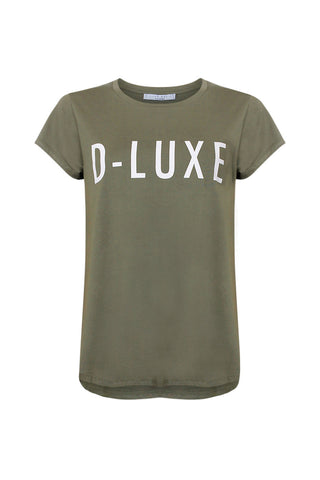 Luxe Printed Logo Tee