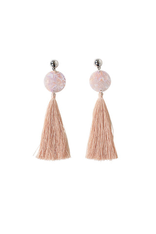 Naomi Resin Tassel Earring