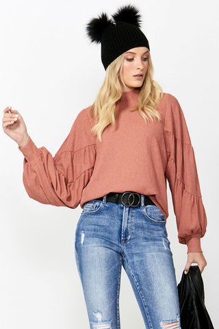 Houston Statement Sleeve Top