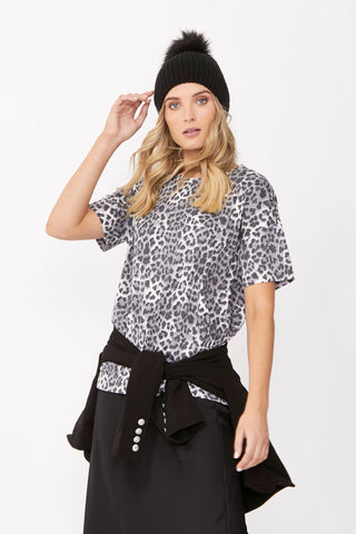 Bella Animal Print Tee