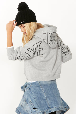 Luxe Outline Logo Hoodie