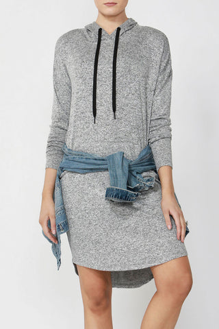 Luxe Hooded Dress