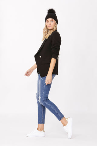 Carly Double Button Blazer