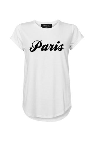 Paris Flocked Tee