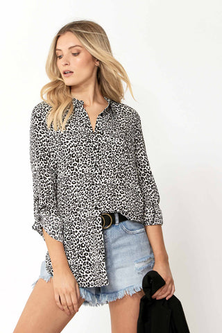 Carissa Button Through Shirt