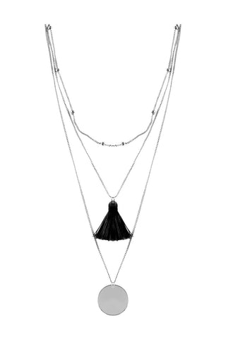 Tassel 3 Layer Necklace