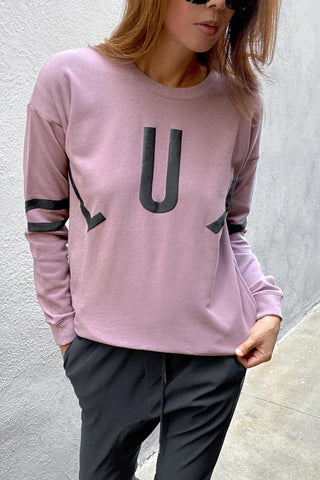 D-Luxe Continual Print Sweat