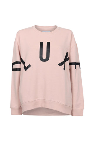 Luxe Continual Print Sweat