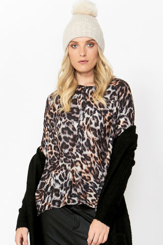 Jules Gathered Neck Blouse