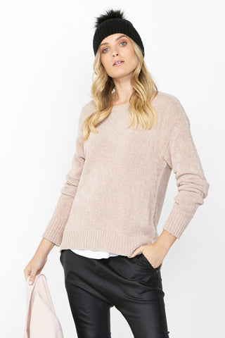 Elise Textured Pullover