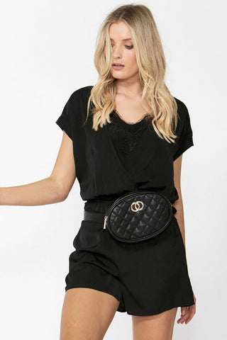 Double Circle Belt Bag