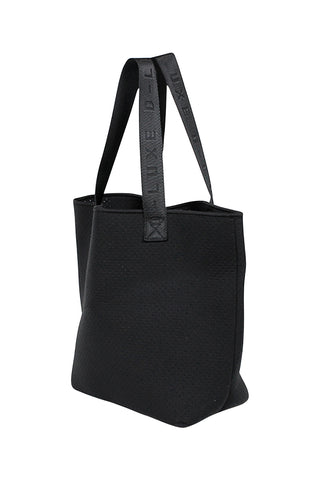 Luxe Logo Handle Neoprene Tote