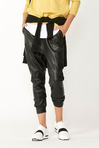 Luxe PU Jogger Pant