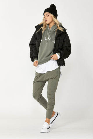 Luxe Foil Hooded Sweat